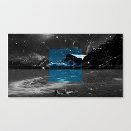 Pi vs. Tau Canvas Print