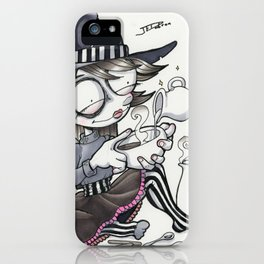 The Coffee Witch iPhone Case