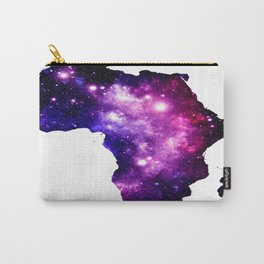 Africa : purple pink fuchsia galaxy Carry-All Pouch