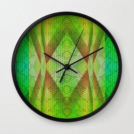 digital texture Wall Clock