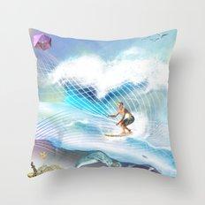Tubular Xpression Throw Pillow