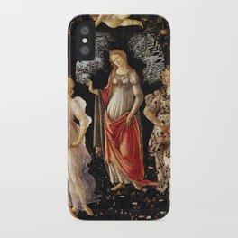Primavera by Sandro Botticelli iPhone Case