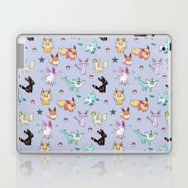Eeveeloution Pattern Laptop & iPad Skin