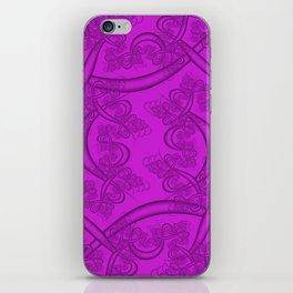 Dazzling Violet Fractal iPhone Skin