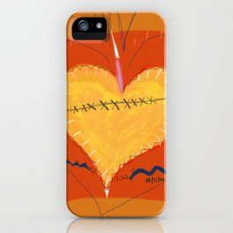 Heart on the Mend iPhone Case