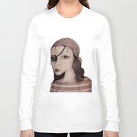 pirate Long Sleeve T-shirts featuring Pirate by CokecinL
