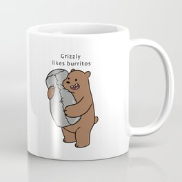 Grizzly likes Burritos Coffee Mug