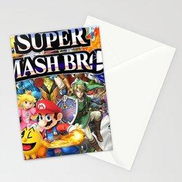super smash bros Stationery Cards