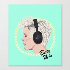 Betty Who | Pop Star Canvas Print