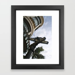 Rodeo Drive Framed Art Print