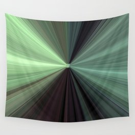 Shades of Green Color Explosion Wall Tapestry