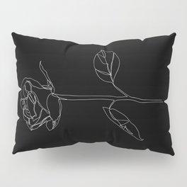 White Rose Pillow Sham