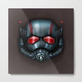 Icon Series 3: (Masks 3/3) Hank Pym/Scott Lang's Ant Man Mask Metal Print