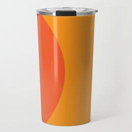 Orange Rising Travel Mug