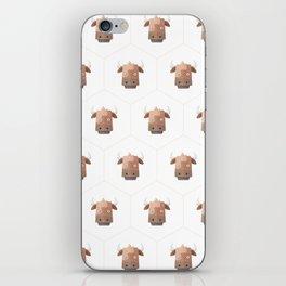 Hexagon's Cow design iPhone Skin