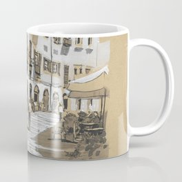 Piazza dell Anfiteatro, Lucca, Italy Coffee Mug