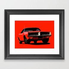 DODGE CHARGER R/T Framed Art Print