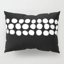 Little White pebbles Pillow Sham