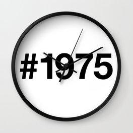 1975 Wall Clock