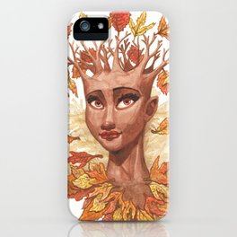 Fall Goddess iPhone Case