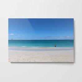 Turks & Caicos Beach Metal Print