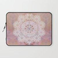 Vintage Rose Mandala Laptop Sleeve