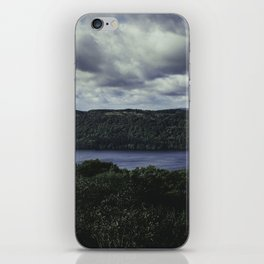 Moody Lake Windermere - Landscape and Nature Photography iPhone Skin
