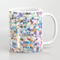 confetti Mugs featuring Confetti by FRAXTURED
