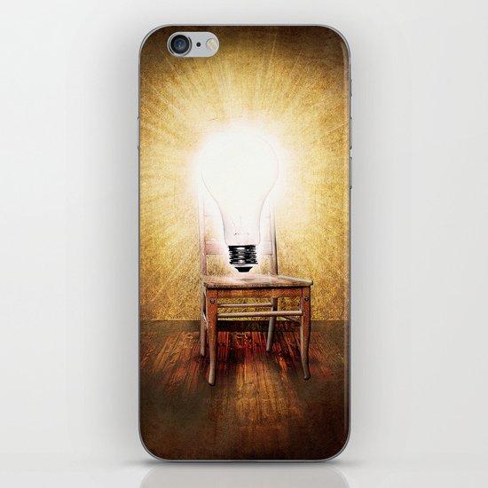 The Seat of Big Ideas iPhone & iPod Skin