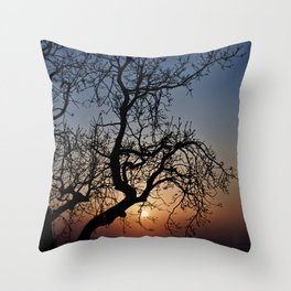 Sorrento Evening Sunset Throw Pillow
