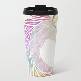 unicorn cercle Travel Mug