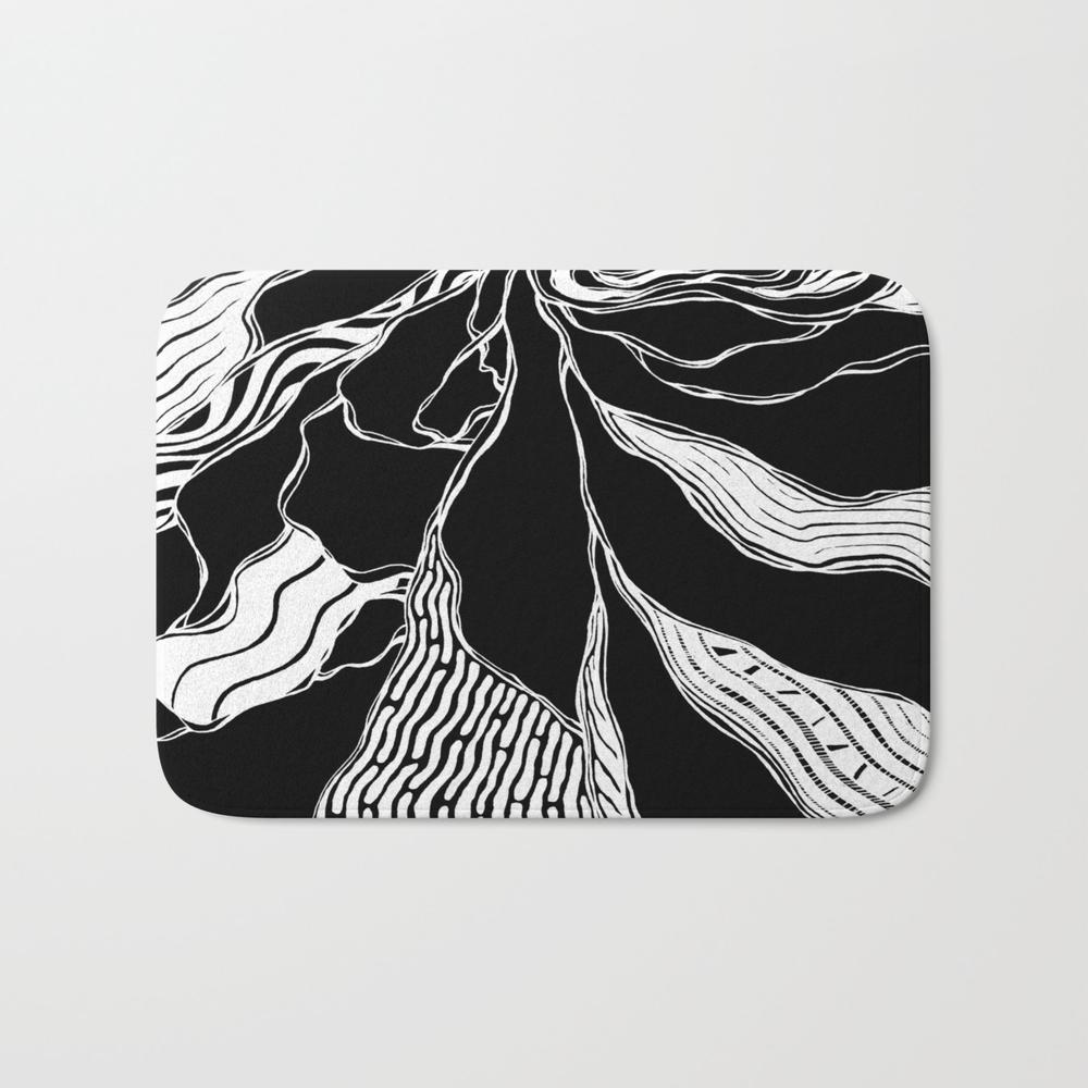 Winding Roots Bath Mat by Adamatilda BMT8998229