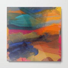 abstraction3 Metal Print