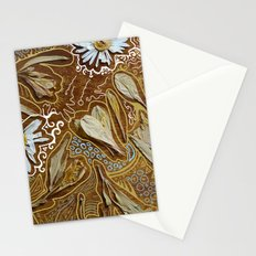 dried flowers and photoshop Stationery Cards