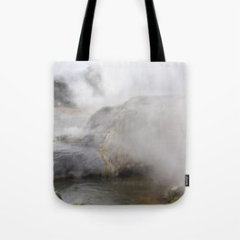 Steam in New Zealand Tote Bag
