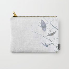 Origami Cranes and Tree Branches Peace Carry-All Pouch