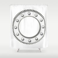 detroit Shower Curtains featuring Detroit by Fernando Vieira