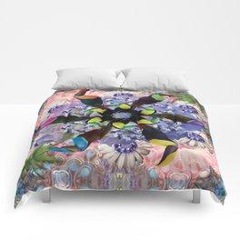 TRIP INTO MY TOUCAN TORNADO Comforters