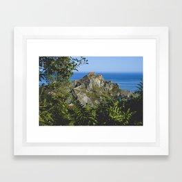Gaztelugatxe Framed Art Print