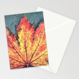 Leaf On Fire Stationery Cards