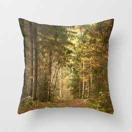 Wanderlust In The Forest #decor #society6 #buyart Throw Pillow