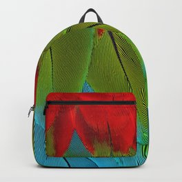 Catalina Macaw Feathers Backpack
