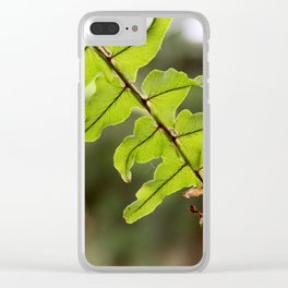 Withering Clear iPhone Case