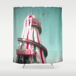Helter Skelter Shower Curtain