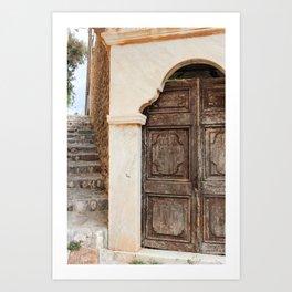 The Way to Greece II Art Print
