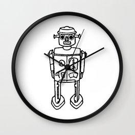 just a robot Wall Clock