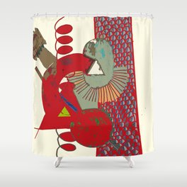 DESIGNER WORKPLACE Shower Curtain