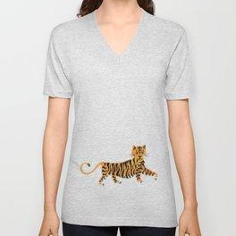 Tigre Unisex V-Neck