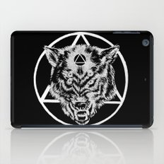 Staring wolf iPad Case