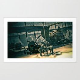 Zardoz Art Print
